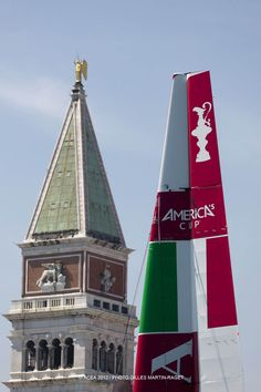 St. Mark's Square vs AC45 wing - which is taller?