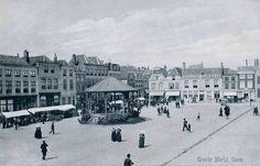Grote Markt omstreeks 1910