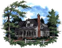 Country House Plan chp-2173 at COOLhouseplans.com