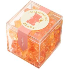 Infused with bubbly champagne, these sophisticated bears from Sugarfina sparkle in flavors of Brut and Ros? Infused with Dom Pérignon Vintage Champagne, these sophisticated bears from Sugafina sparkle in flavors of Brut and Rosé. Christmas Gifts For Her, Birthday Gifts For Her, Birthday Ideas, Birthday Brunch, Christmas Stocking, 40th Birthday, Holiday Gifts, Champagne Gummy Bears, Peach Aesthetic