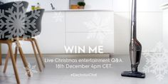 Win an Electrolux Ergorapido cordless vacuum cleaner tomorrow! Click image to find out how to enter! #ElectroluxChat