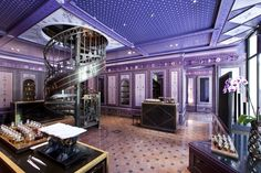 The Serge Lutens parfumerie at the Palais Royal in Paris is more than a shop. It's an experience. Exquisite!