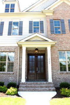 Durham, Houzz, Home Builders, Custom Homes, Brick, Bricks, Exposed Brick