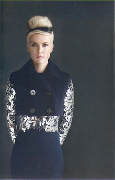 Daphne Guinness....if I could die and come back to life as someone else, it would be Ms. Guinness I think. #Love
