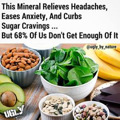 """Approximately 68% of Americans aren't getting the recommended daily 310-320 mg (for women) or 400-420 mg (for men) of magnesium a mineral that plays a role in over 300 enzymatic reactions in the body. """"In general people don't consume enough vegetables especially green leafy onessome of the best sources of magnesiumand consume too many processed and refined grains which are stripped of minerals"""" says registered dietitian nutritionist Katie Shields. """"What's more industrial agricultural and…"""