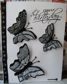 Zentangle Butterflies