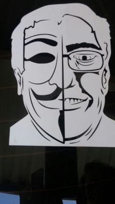 Bernie's a Fawkes