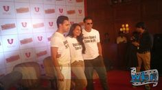 Once Upon a Time in Mumbai 2: Imran Khan, Sonakshi Sinha and Akshay Kumar in Calcutta - http://www.washingtonbanglaradio.com/content/44698213-once-upon-time-ipl-sonakhshi-sinha-akshay-kumar-and-imran-khan-promote-once-upon-ti