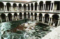 Accademia Entrance Installation #visual_roots #AccademiaAperta #Milan #FondPeruzzo  #Weprintheguide #Brera    Lets Visit Us !  Venite a trovarci PlessiInVenice  #Venezia #Venice