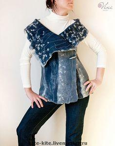 FeLTINg ...wearable art...!! on Pinterest   Felted Scarf, Felted ...