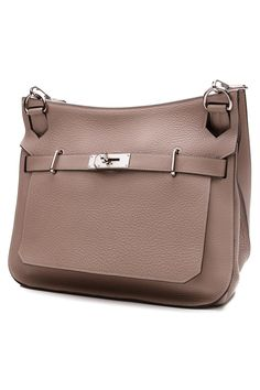 This taupe Hermes Jypsiere is the epitome of everyday chic
