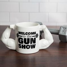 Lean Muscle Gym Coffee Mug – Presents for boyfriend diy Bf Gifts, Diy Gifts For Boyfriend, Gifts For Your Boyfriend, Birthday Gifts For Boyfriend, Gifts For Him, Funny Gifts, Novelty Mugs, Novelty Gifts, Gym Guys