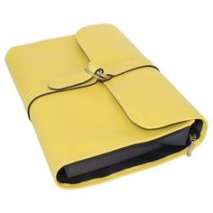 Nécessaire Hurbane - cuir jaune