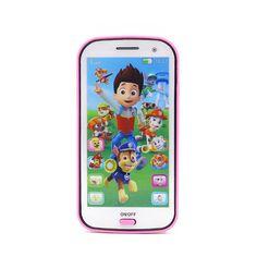 赤ちゃんのおもちゃ電話キッズ携帯toy学習英語で歌光ストーリー伝える教育学習おもちゃのため赤ちゃん