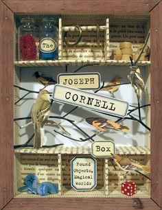 The Joseph Cornell Box: Found Objects, Magical Worlds: Amazon.de: Joan Sommers, Ascha Drake: Fremdsprachige Bücher