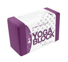 Yoga Block Lightweight Comfortable 9 x 6 x 4 >>> Visit the image link more details.
