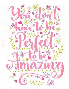 Amazing Inspirational Quotes, Amazing Quotes, Great Quotes, Doodle Quotes, Calligraphy Quotes, Perfection Quotes, Banner Printing, Facebook Image, Mindfulness Meditation