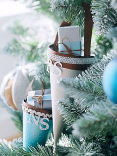 personalized easy-to-make ornaments