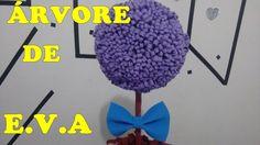 ♥Árvore de E.V.A! Super facil