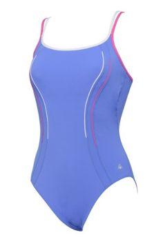 Aqua Sphere - Costume da nuoto per donna, modello Anika, Viola (lilla/bianco), 86 cm Aqua Sphere http://ebay.to/1QypuRM