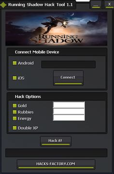 Running Shadow Hack Tool and Cheats Generator No Survey