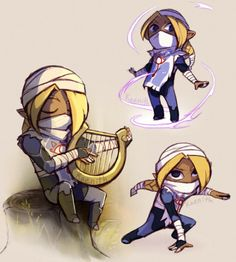Sheik. by kaenith