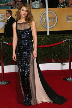 Claire Danes at the SAG Awards.