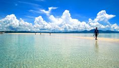 Coastline of the capital of Palawan, Philippines. Puerto Princesa City is Honda Bay. Places Ive Been, Places To Go, Puerto Princesa, Ends Of The Earth, Palawan, Adventure Is Out There, Asia Travel, Dream Vacations, Beautiful Beaches
