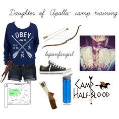 Daughter of Apollo- Camp Half Blood training