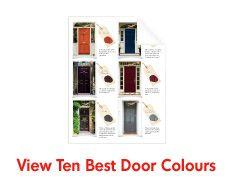 Home Hardware - Ten Best Door Colours Random House, Home Hardware, Coastal Decor, Natural Wood, Diy Projects, Batten, Doors, Painting, Gardening