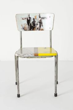 Artista Lesson Chair, Beachside - Anthropologie.com  seems like this could be a good DIY opportunity