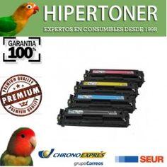 pack de toners compatibles hp ce264x y cf031 - cf032 y cf033 disponibles ya en hipertoner.es, se pueden usar para hp laserjet colour cm4540
