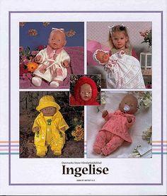 Album Archive - Dukketøj til Baby Born 2 - Ingelise Knitting Dolls Clothes, Ag Doll Clothes, Sewing Dolls, Ag Dolls, Reborn Dolls, Knitting Patterns Free, Knit Patterns, Free Knitting, Baby Knitting