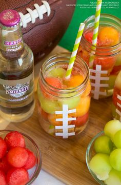 You know you're Game Day Ready when your drink has more rushing yards than your favorite team. Just add melon balls to Smirnoff Ice for a tasty game day cocktail.  Recipe: 1 Bottle of Smirnoff Ice Raspberry and add desired amount of frozen cantaloupe, watermelon and honeydew balls.