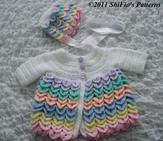 BABY GIRL CROCHET PATTER...