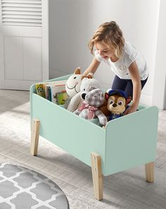 Spielkiste KIDDY (80x48x39) in mint