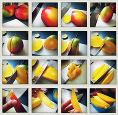 This would have come in very handy yesterday. how to cut a mango | Flickr - Photo Sharing!