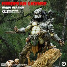 """The words """"What the hell are you?"""" are in our heads as we saw the Predator together with Dutch for the first time. Since XM Studios showed the first pictures from the new XM Predator line by Narin we received so many questions with new words like """"When the hell will he be available here in europe?"""". Today we are excited for our collectors and we are proud to announce that we acquired the distribution rights for the XM Predator Premium Collectibles here for us in europe."""