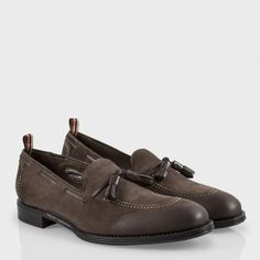 Paul Smith Shoes - Brown Suede Graham Loafers