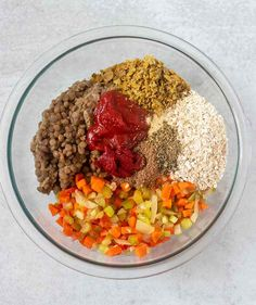 This Lentil Loaf recipe makes a great main dish entree for the holidays. It's super easy to make, healthy and economical. Lentil Loaf Vegan, Dairy Free, Gluten Free, Falafel, Plant Based Diet, Chana Masala, Lentils, Apples, Entrees