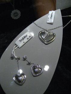 Offerta promo da MZ Creazioni su collezione Byblos Jewels 2013 Collana  cuore con logo Byblos Prezzo di listino 69 b3636498f8a
