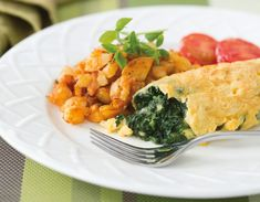 Spinach and Cheese Omelet ‹ Hello Healthy On My Fitness Pal Blog. Yahoo!