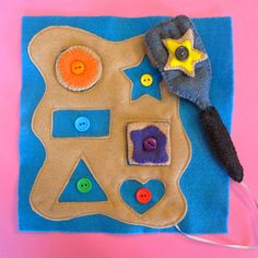 Imagine Our Life-Cookie Shapes & Colors Quiet Book Page This lady made an amazing quiet book!