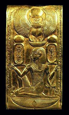 Gold Egyptian bracelet