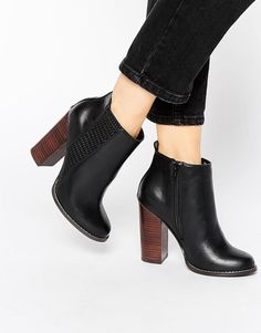 Miss KG   Miss KG Scorpio High Heeled Ankle Boots at ASOS