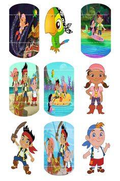 Jake And The Neverland Pirates Dog Tag Images