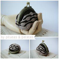Pitusas & Petetes: Monedero Vintage a Crochet {FREE PATTERN}
