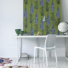 Add wallpapered panels | How to decorate a rented property | easy decorating ideas | PHOTO GALLERY | housetohome