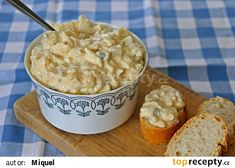 Czech Recipes, Russian Recipes, Ethnic Recipes, Breakfast Snacks, Polish Recipes, Gazpacho, Easy Cooking, Salad Recipes, Macaroni And Cheese