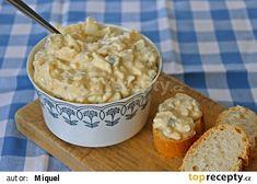 Vajíčkový salát recept - TopRecepty.cz Czech Recipes, Russian Recipes, Ethnic Recipes, Breakfast Snacks, Polish Recipes, Easy Cooking, Salad Recipes, Macaroni And Cheese, Oatmeal